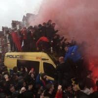 Semifinale di Champions, salgono a 14 i daspo verso i tifosi giallorossi