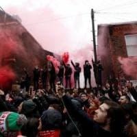 Scontri tra ultrà Liverpool-Roma,  condannato a tre anni tifoso giallorosso: