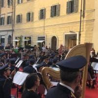 Festa del Cinema: a San Lorenzo in Lucina suona la banda della Polizia