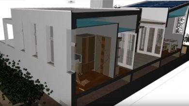 Solare, sostenibile e anche accogliente la casa del futuro è Made in Sapienza    foto