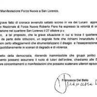 Roma, Forza Nuova a San Lorenzo: