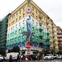 Roma, un maxi murales anti-smog  in via del Porto Fluviale