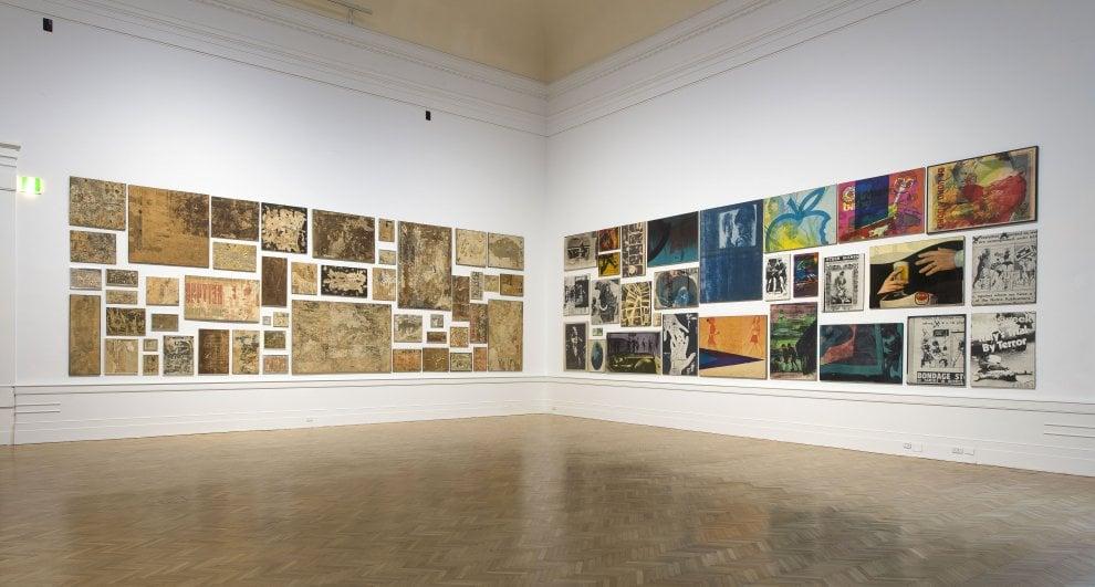 Roma, alla Galleria nazionale d'arte moderna i 'manifestI' di Mimmo Rotella