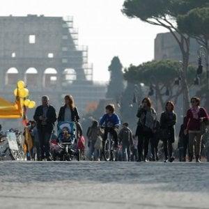 Smog a Roma, varato calendario domeniche ecologiche: si comincia il 18 novembre