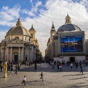 Babbo Natale 8 Dicembre Roma.Roma Piazza Del Popolo Ci Sara Un Mercatino Di Natale