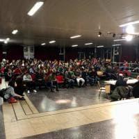 Roma, aula magna gremita al liceo Socrate per l'incontro con Ilaria Cucchi