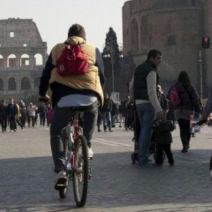 Bilancio positivo per la prima domenica ecologica anti-smog