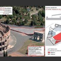 Colosseo, il progetto del nuovo Centro Servizi
