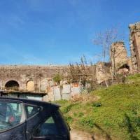 Sgombero ville Casamonica a Roma, inglobato anche un tratto dell'acquedotto Felice