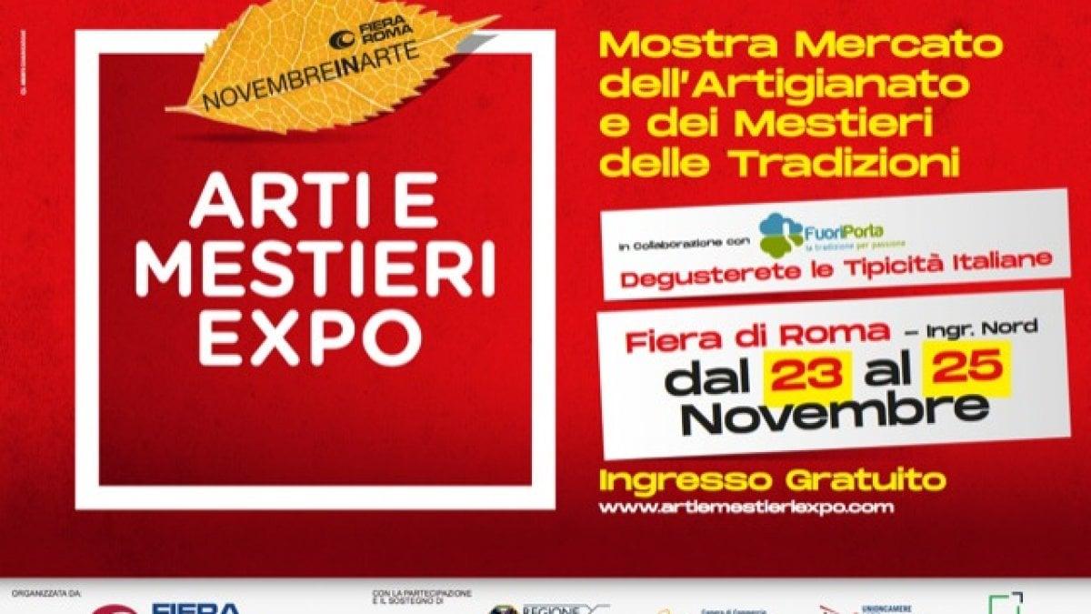 Fiera di roma l 39 expo dell 39 artigianato e delle tradizioni for Tradizioni di roma