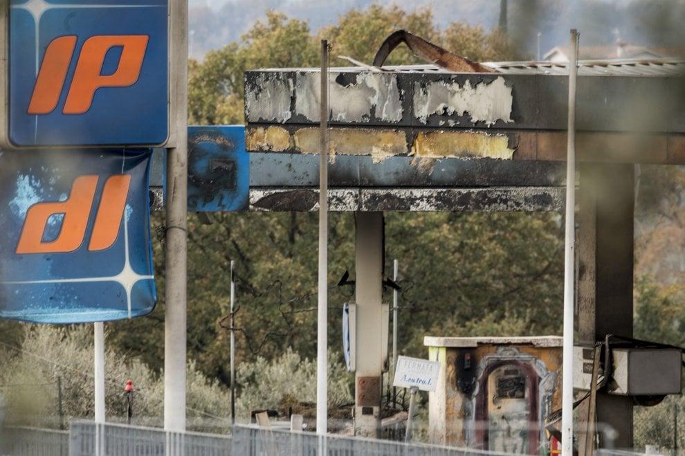 Rieti, cosa resta dopo l'esplosione sulla Salaria