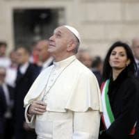 """Il Papa: """"Saggezza per chi governa Roma. Cittadini non si rassegnino a disagi quotidiani"""""""