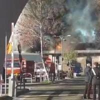 Incendio al Tmb Salario: i pm sulla pista dolosa. Ingresso sequestrato