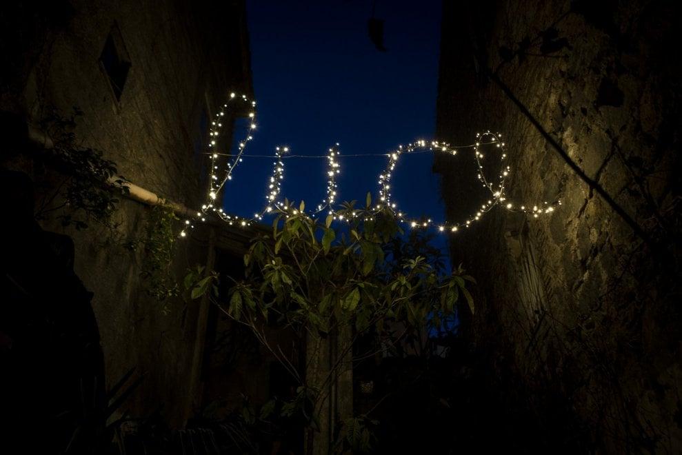 Viterbo, il progetto Luminaria nel quartiere di San Faustino