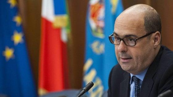 """Dl Sicurezza, Zingaretti: """"Nel Lazio non faremo chiudere gli Sprar. E le Asl non interrompano assistenza sanitaria"""""""