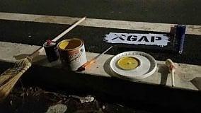 """""""Gappisti"""" all'opera  strisce per i bambini"""