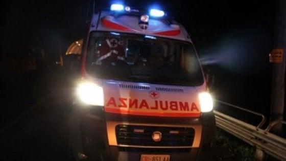 Roma, scontro tra due auto: un morto e una ferita grave