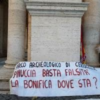 Roma, bonifica del parco di Centocelle: la protesta dei comitati in Campidoglio