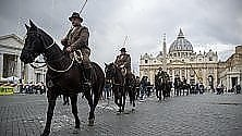 Animali in San Pietro per la benedizione