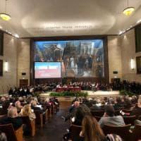 Università La Sapienza, Conte, Bussetti e Amato all'inaugurazione del nuovo