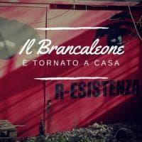 Roma, il Brancaleone torna a casa:
