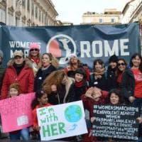Roma, anche nella Capitale la Women's March contro la violenza sulle donne