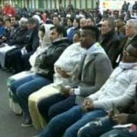Roma, Castelnuovo di Porto scatta la protesta pro-rifugiati: