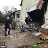 Roma, Ex Penicillina rioccupata: sopralluogo della polizia locale