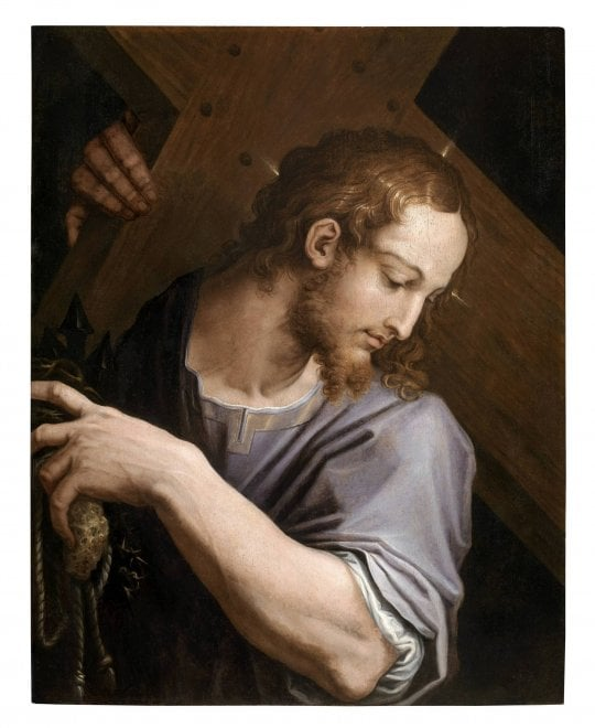 Cristo portacroce di Vasari: il capolavoro ritrovato alla Galleria Corsini di Roma