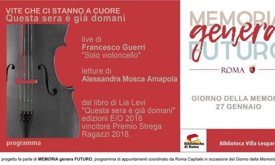 Roma,  una settimana tra passeggiate interculturali e iniziative per la giornata della Memoria