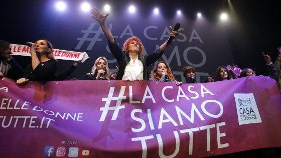 Casa delle Donne, concerto e impegno: tutto esaurito alla festa militante all'Auditorium