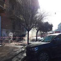 Roma, fuoco in una galleria sotterranea di piazza Mazzini: black out in Prati