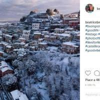 Neve ai Castelli romani, gli scatti su Instagram