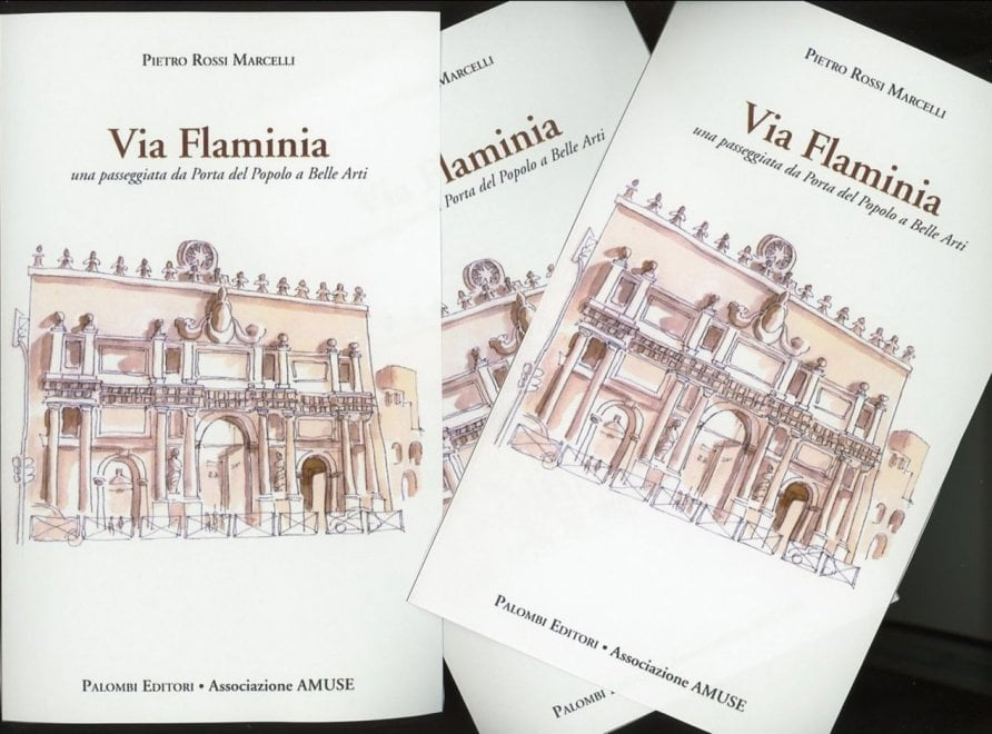 """Roma, al circolo si presenta """"Via Flaminia"""",  storia e memorie da Porta del Popolo a Belle Arti"""