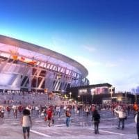 Stadio della Roma, ecco il progetto senza grattacieli