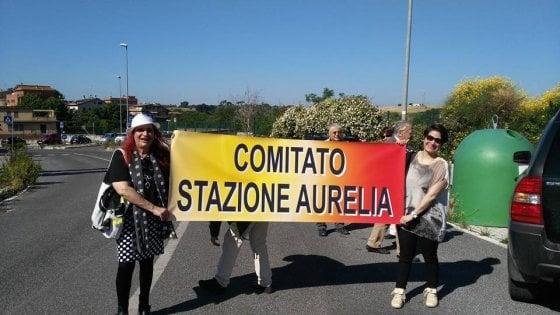 """Roma, comitati in azione: """"Così rilanciamo la stazione Aurelia"""""""