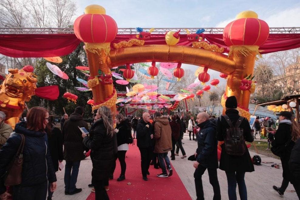 Esquilino in festa per il Capodanno cinese, arriva 'l'anno del maiale'