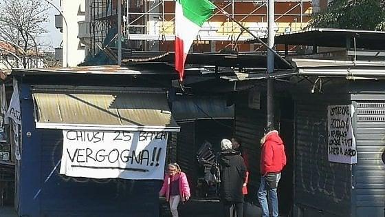 Roma, dopo la protesta riapre il mercato Portuense, concessa proroga fino al 4 marzo