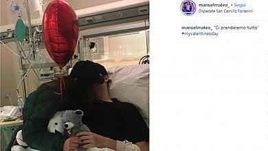 """Manuel Bortuzzo torna su Instagram con la fidanzata: """"Ci prenderemo tutto"""""""