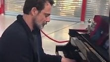 Preziosi, pianista al volo in partenza da Fiumicino