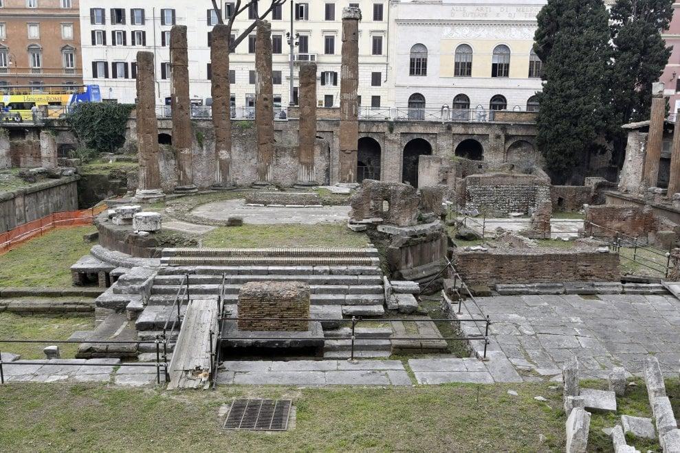 Roma,  largo Argentina torna al suo splendore grazie alla donazione di Bulgari