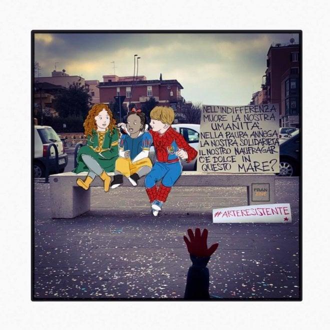 A Roma debutta #Centocelleinlove: la mostra di fumetti che racconta l'amore per il quartiere