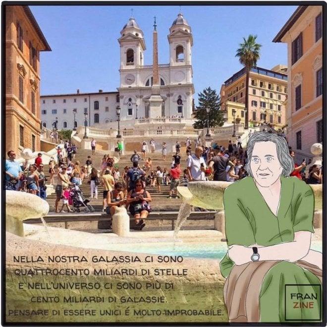 Roma, un omaggio alle donne che hanno cambiato il mondo: da Frida Kahlo a Margherita Hack