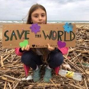 """Alice, 9 anni: """"Grazie Greta siamo piccoli ma uniti cambieremo il mondo"""""""
