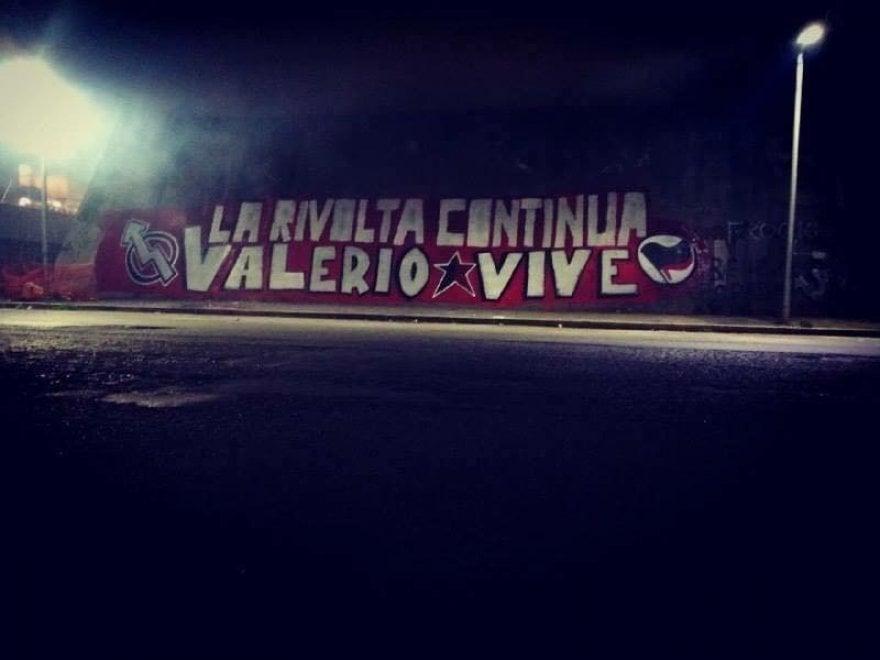 Roma, ancora un murale cancellato: sparisce la scritta per Valerio Verbano a San Lorenzo