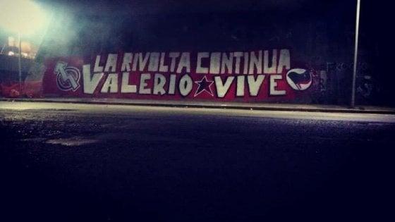 Roma, coperto il murale per Valerio Verbano a San Lorenzo