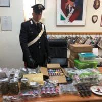 Prendeva droga dalla California e la rivendeva sui social: un arresto a Cerveteri