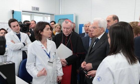 """Bambino Gesù, 150 anni di cure e ricerca. Il presidente Mattarella: """"L'Italia grata all'ospedale dei bimbi"""""""