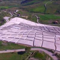 Museo Bilotti, omaggio a Burri e al Cretto di Gibellina, opera di Land Art più grande del mondo