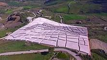 Scatti sul Cretto di Burri Land Art dopo le macerie